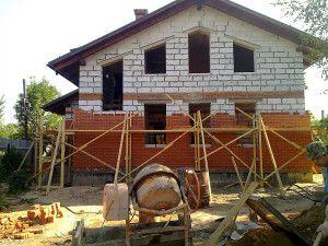 Чим облицювати будинок з піноблоків