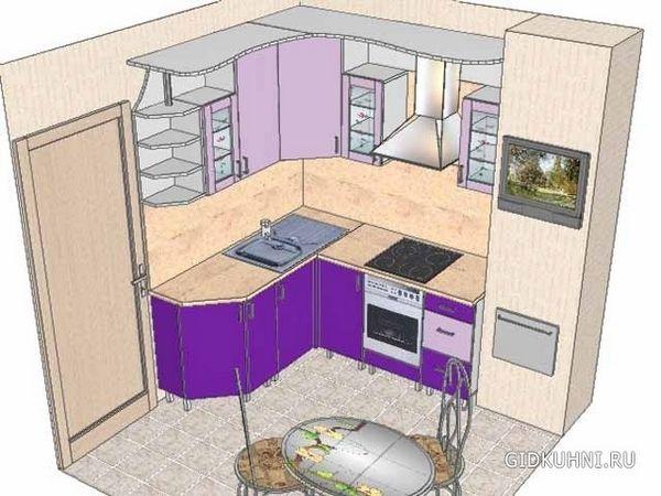Ідеї маленької кухні