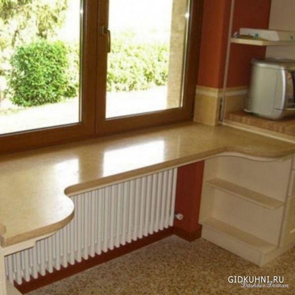 Ідеї столу маленької кухні