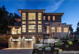 Будинок в стилі модерн