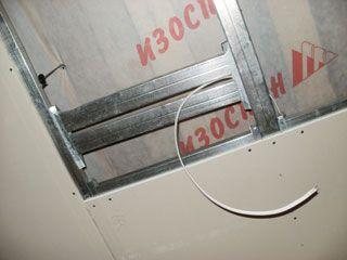 підготовка бази для монтажу стелі