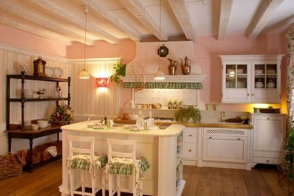 Французький стиль в інтер`єрі кухні