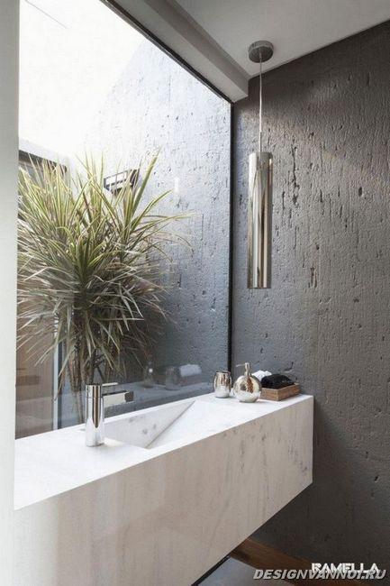 ідеї дизайну ванної кімнати фото - 16
