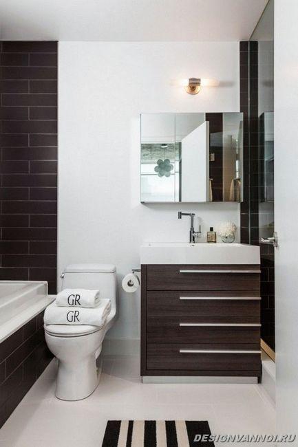 ідеї дизайну ванної кімнати фото - 50