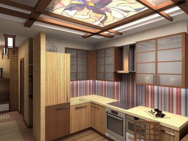 Інтер`єр кухні в східному стилі