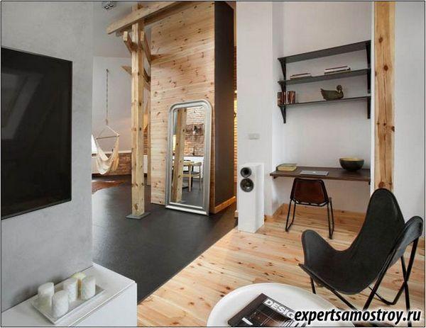 Інтер`єр квартири в стилі лофт