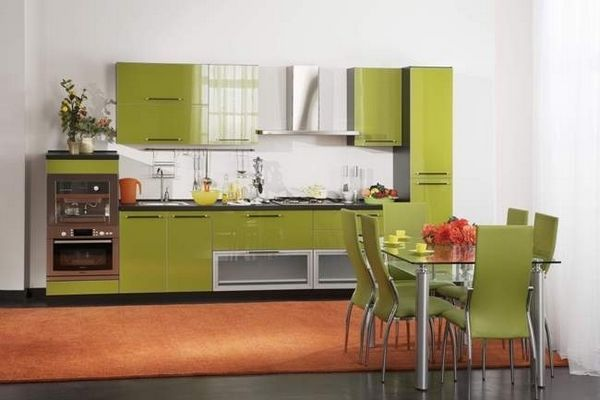 Оливкова кухня фото 2
