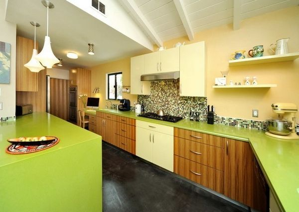 Стільниця оливкового кольору
