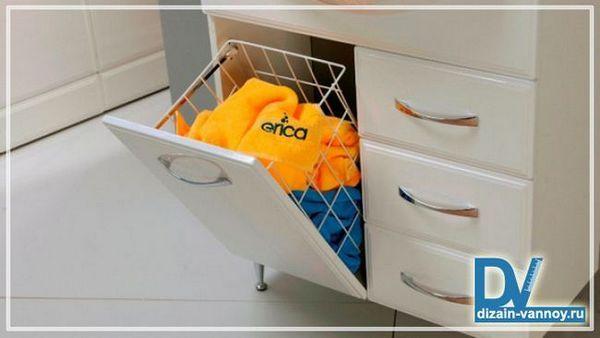 ящики для білизни в ванну