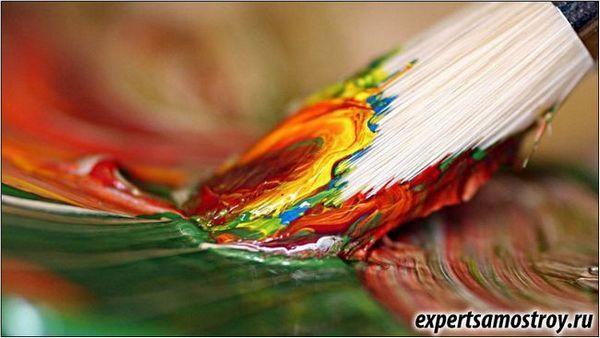 Як правильно фарбувати пензликом?