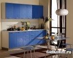 Синя кухня фото