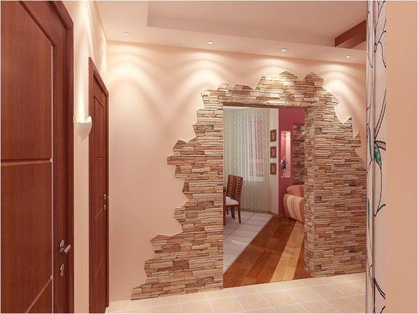 Кам`яні шпалери красиво, безпечно, незвично фото