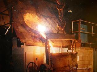 Дугова сталеплавильна піч