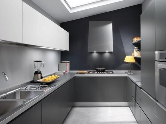 Сіра кухня фото