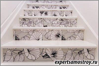 Облицювання ступенів сходів