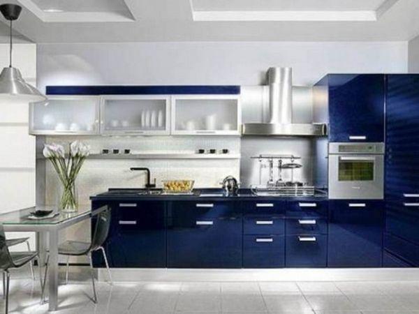 Кухня в синьому кольорі
