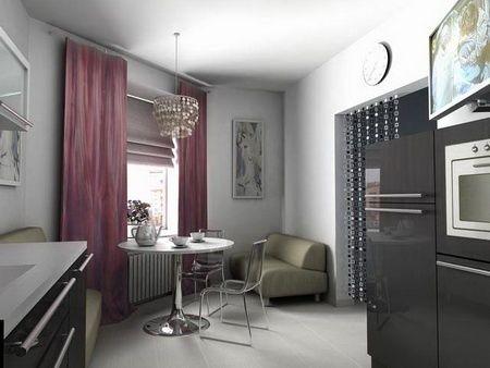 Коричневий колір в інтер`єрі кухні