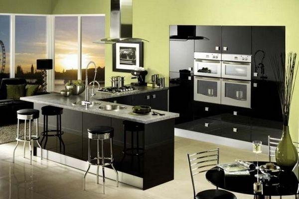 Чорна кухня в інтер`єрі