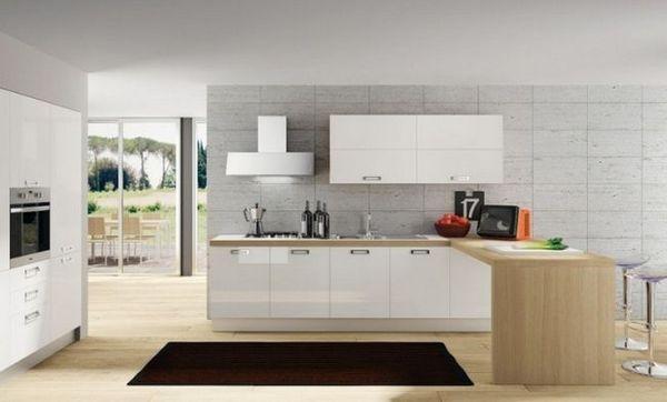 Біла кухня в інтер`єрі фото