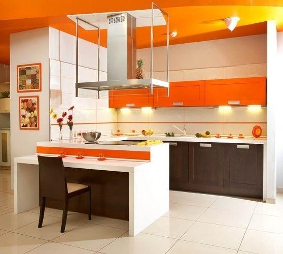 Помаранчева кухня картинка