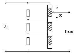 Ламельний потенциометрический датчик