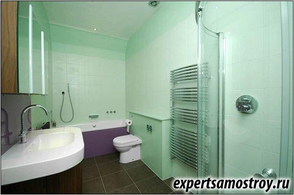 Правильне планування ванної кімнати
