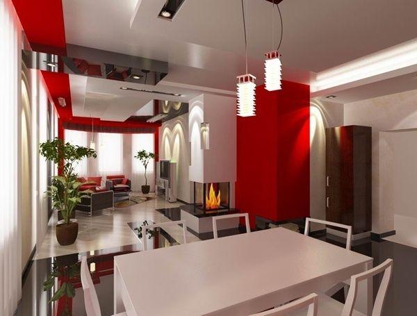 Приклади інтер`єру кухні їдальні вітальні