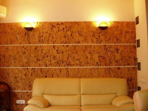 Коркове покриття для стін і його поклейка