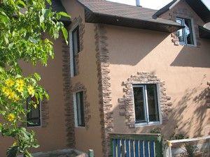 Структурна фасадна фарба особливості і способи нанесення