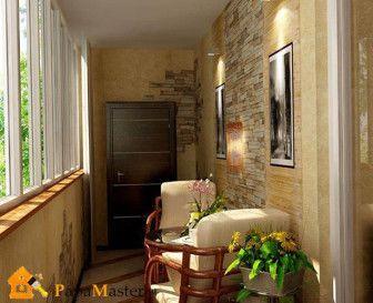 Внутрішнє оздоблення балкона і способи його скління