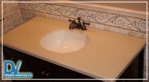 стільниці для раковини у ванну