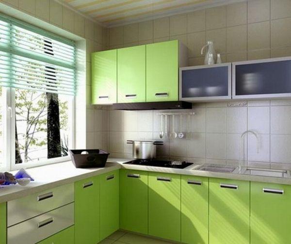 зелена кухня картинки