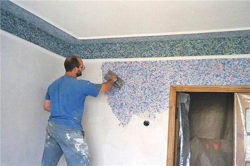 Рідкі шпалери своїми руками - шпалери для стін
